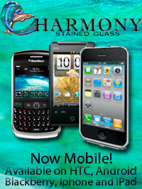 Harmony Stained Glass is now mobile!