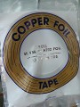 "COPPER FOIL - 1/4"" SILVER BACK"