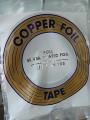 """COPPER FOIL - 1/4"""" SILVER BACK"""