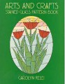 ARTS & CRAFTS STAINED GLASS PATTERN BOOK