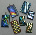 Friday Night Fusing - Textural Dichroic Jewelry - August 6, 2021