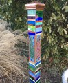 Mosaic Art Peace Pole Class - Saturdays, June 5 and July 10, 2021