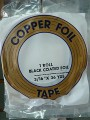 "COPPER FOIL - 3/16"" BLACK BACK"