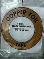 """COPPER FOIL - 1/4"""" BLACK BACK"""