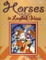 HORSES IN LEADED GLASS BY DIEMAN