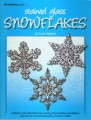 STAINED GLASS SNOWFLAKES-HAEBICH