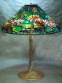 "20"" Waterlily Lamp Kit with Mold, Pattern, Wheel, Ring & Rim"